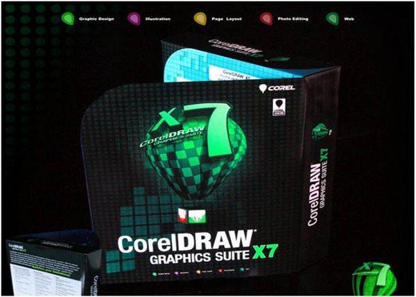 CorelDRAW X7一款通用而且强大的图形设计软件!