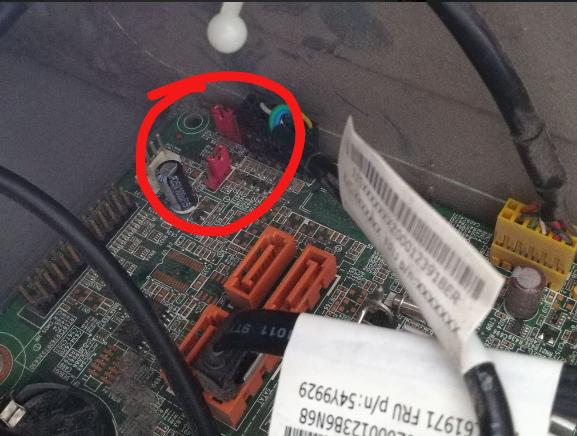 联想品牌机bios密码清除,解决放电无法清除bios密码的问题