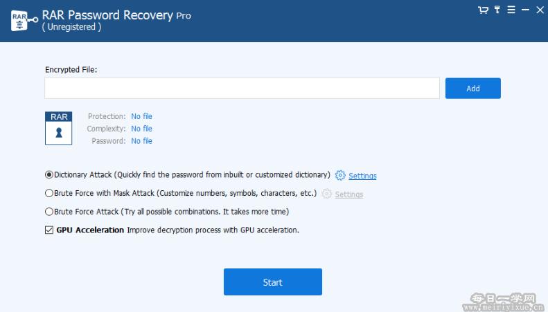 RAR密码破解SmartKey RAR Password Recovery Pro 9.3.1注册版