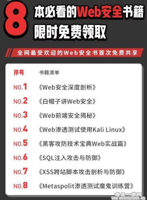 8本必看的Web安全书籍