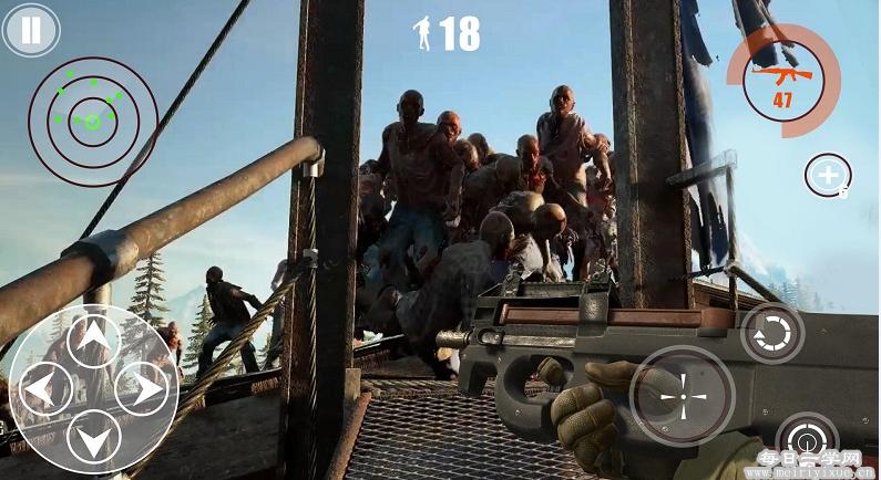 破解游戏:隧道战争是一款经典的僵尸题材第一人称动作射击手机游戏 游戏相关 第1张