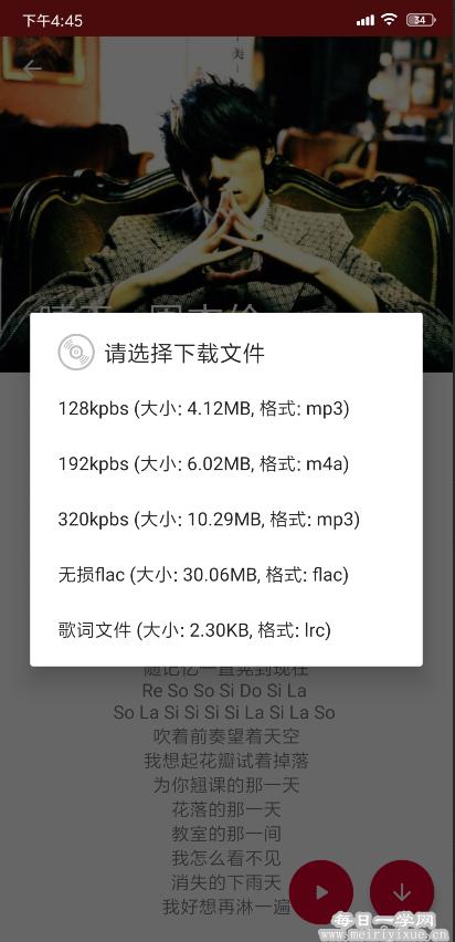 【安卓】QMD V1.3.5,免费下载qq无损,免费听 手机应用 第2张