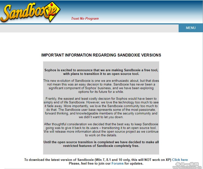 沙盒sandboxie正式免费发行,并逐步开源 电脑软件 第2张