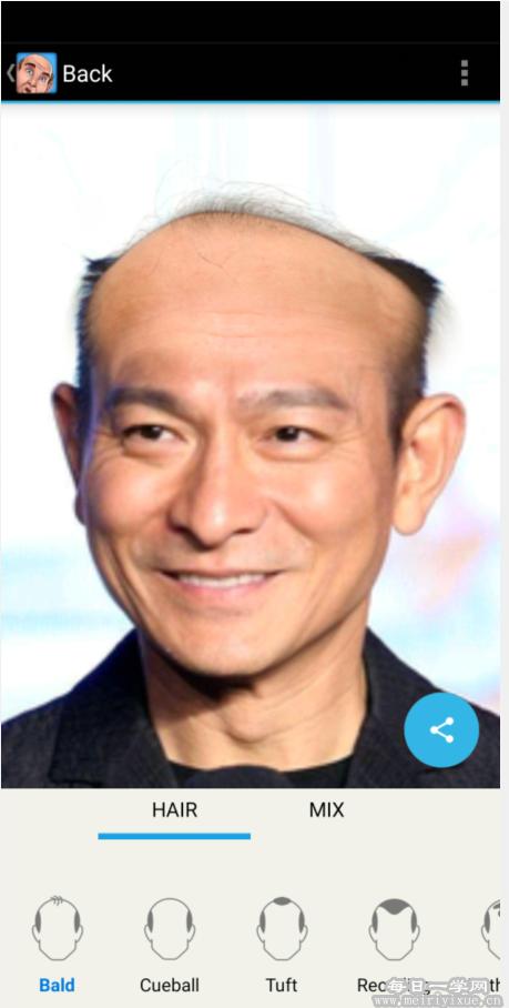 【安卓】友尽神器!Baldify一键生成秃头照片! 手机应用 第3张