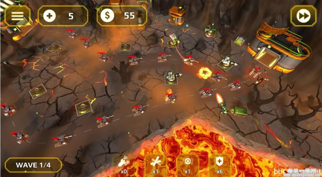 【安卓游戏】将军塔防 高清版 v1.2.4 大量金币,进入游戏即可获得  游戏相关 第3张