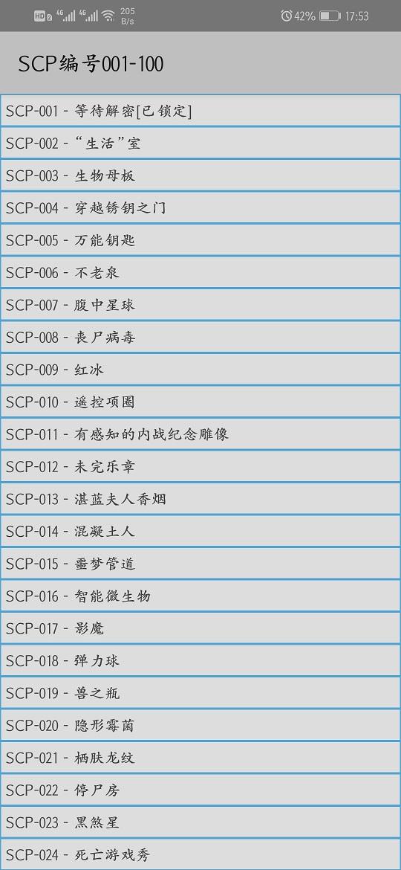 【安卓】SCP基金会V3.3.0  有趣的脑洞故事大集合 手机应用 第3张