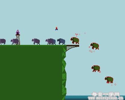 【安卓游戏】我要跳河v1.1破解版 游戏相关 第2张