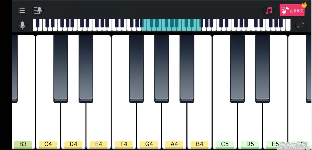 【Android】模拟钢琴v25.5.3无广告所有歌曲均可弹 手机应用 第2张